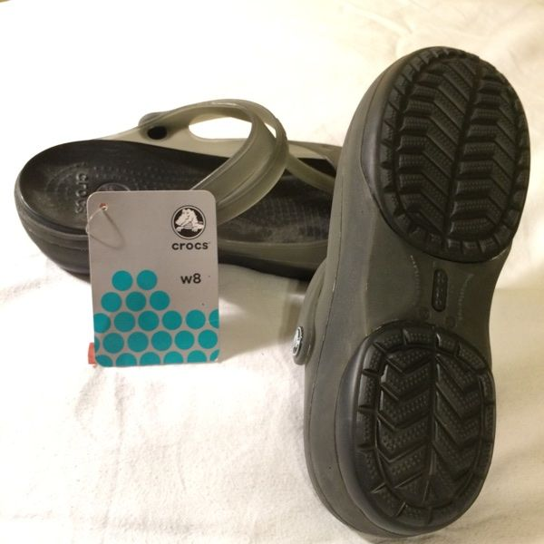 For Sale: Women's Crocs Sandals Size 8 for $15