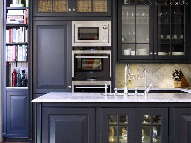 un lugar para los sentidos cocinas grises top 25 - Ikea Home Planer Wohnzimmermobel