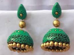 Handmade Terrocota Jhumkas