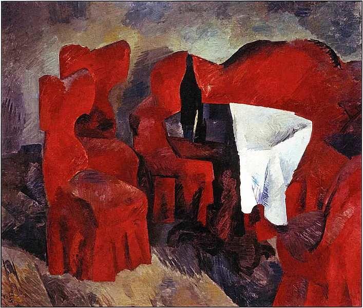 Роберт Рафаилович Фальк (1886–1958). Красная мебель 1920