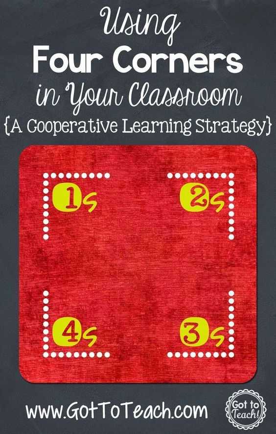 Four Corners: A Cooperative Learning Strategy - quick & easy!