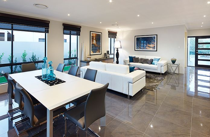 the fusion display home open plan