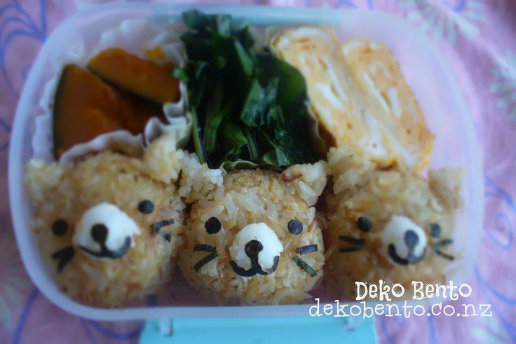 Cat lunchbox - dekobento.co.nz