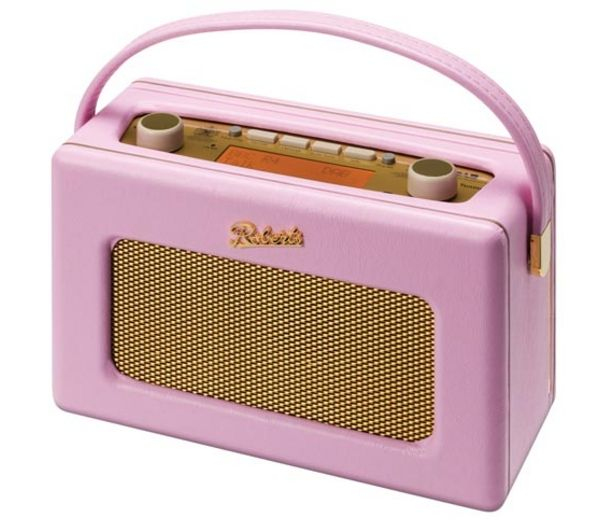 Buy ROBERTS Revival RD60 Portable DAB Radio - Pastel Pink | Free Delivery | £159.99