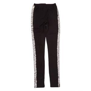 Lækre sorte leggings fra Grunt - model Blackbird Pant