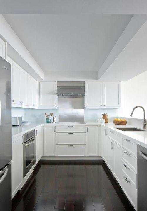 25+ best ideas about Kücheneinrichtung l form on Pinterest | U ... | {Moderne küchen u-form grau 8}