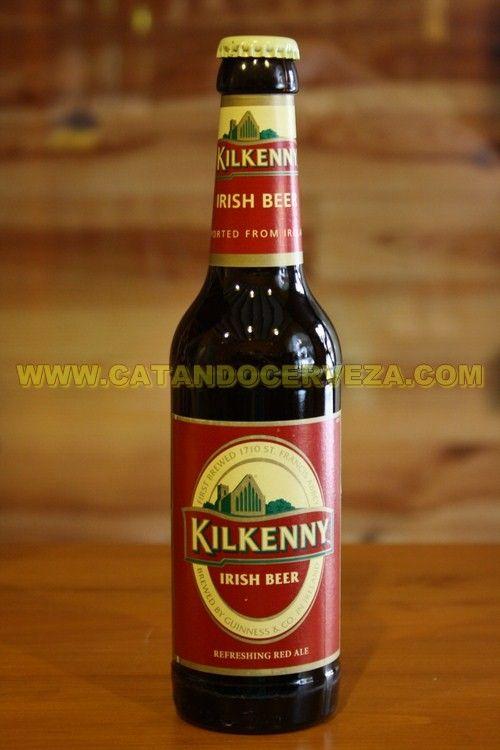 Cerveza Kilkenny Red Ale. Una de las cervezas irlandesas estilo Red Ale mas conocidas. #cerveza