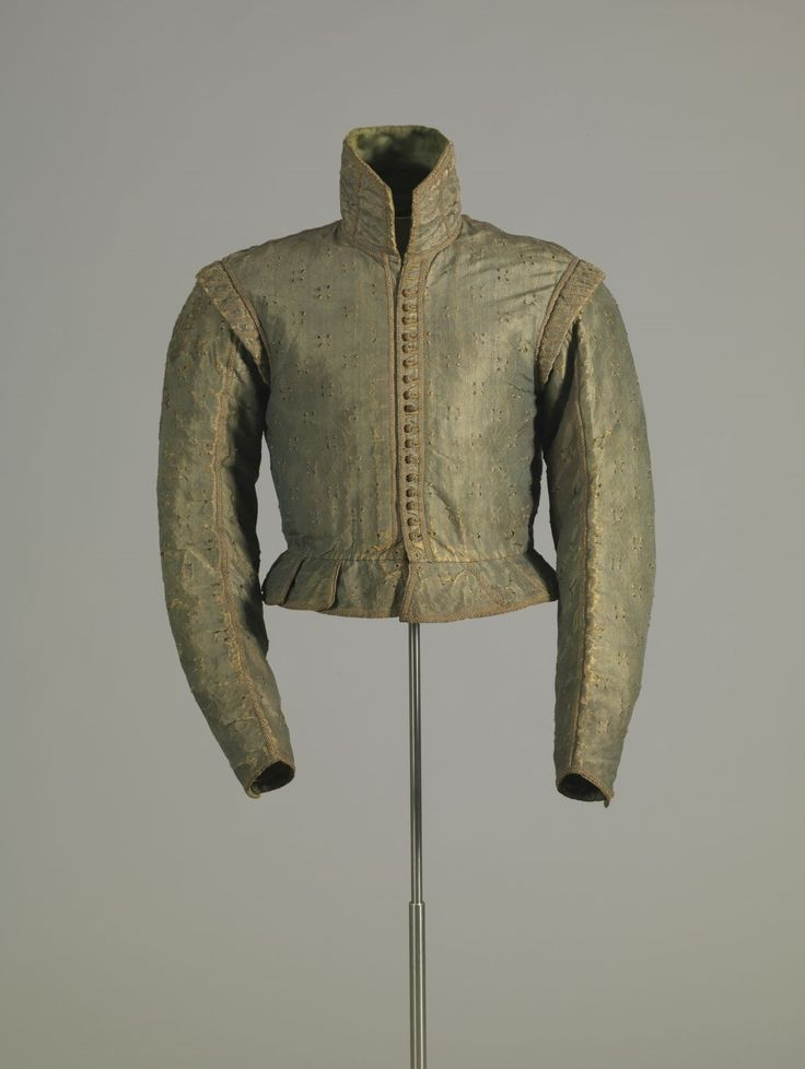 Doublet ca. 1600-1610 From the Germanisches Nationalmuseum