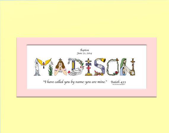 22 best baby gifts images on pinterest christian gifts baby baby dedication gift personalized christian gifts christian name art matted print baby dedication gifts for girls or boys negle