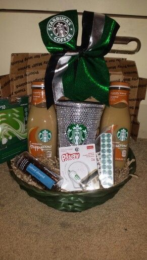 Starbucks Gift Basket - DIY Christmas Gifts for Teen Girls: