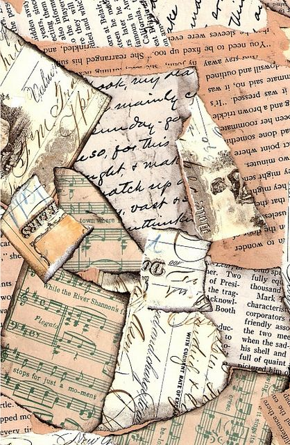 Vintage papers background by autumnsensation, via Flickr