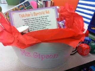Teacher's Survival Kit – DIY