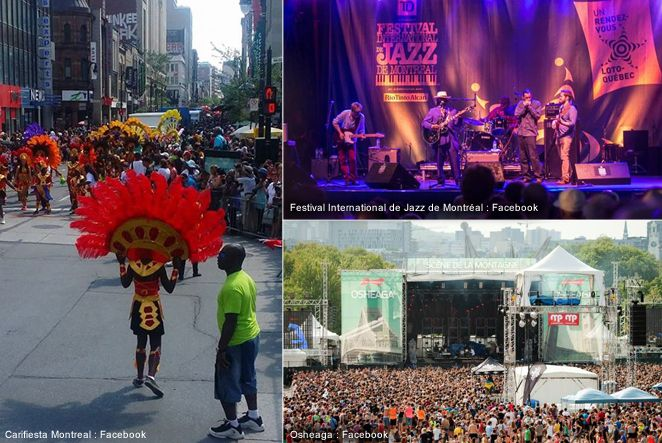 If you plan on visiting Montreal in July you'll be happy to find out that some of the biggest and most famous festivals run that month; festivals like the Jazz Fest or Osheaga and the insanely funny Just for Laughs.