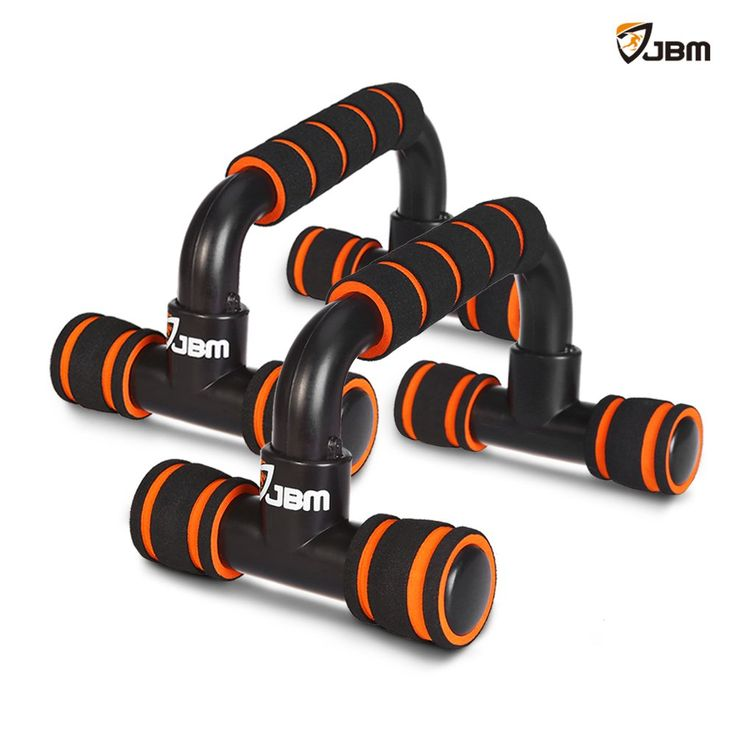 """JBM Perfect Muscle Push up Pushup Bars Stands Handles Aid Equipment for Men and Women Pushups Pushup Push-up Workout Pairs of Slip-resistant Polypropylene Push up Exercise Benefits (Red & Black). LIGHTWEIGHT & EASY TO TAKE : The size of each push up bar is 8.6"""" long x 5.5"""" wide x 5.3"""" tall, weight as 1.3 lbs for each pushup stand. Owing to itself light weight, it is simple and convenient to store or to take to do pushup / pushups / push-up workout anywhere. It is portable pushup bars /..."""