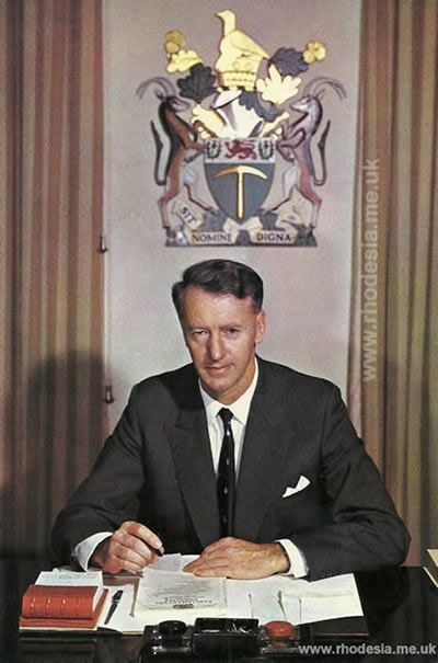The Hon. Ian Douglas Smith, Prime Minister 1964-1979