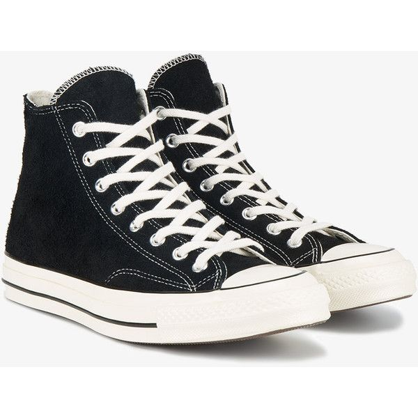 3c6664fb3dfa Converse Suede Chuck Taylor All Star 70S Hi Top Sneakers ( 93) ❤ liked on  Polyvore featuring men s fashion