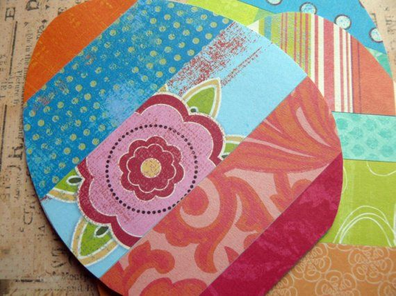 Print out some of our patterns for a colorful Easter egg card. http://cutcaster.com/lightbox/3142-Patterns/