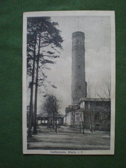 Koszalin.Koslin. Gollenturm.1921r.  422O