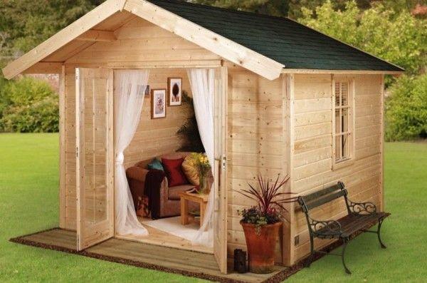 HGC Log Cabin Kits  Cool idea for studio.