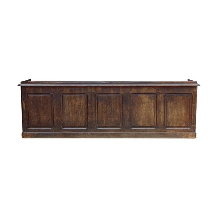 Industrial Antique French Shop Counter