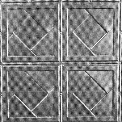 "If you are looking for a simple art deco panel then this is it.  It is actually called ""Art Deco"". A very simple but effective design.  http://www.heritageceilings.com.au/tempat/art-deco.php"