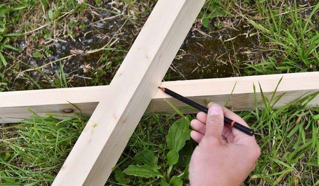 Tuto Realisez Un Claustra Design En Bois Dans Votre Jardin