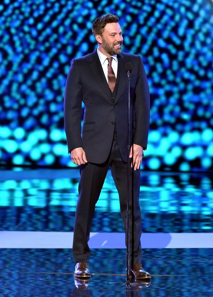Pin for Later: Ben Affleck Wears His Wedding Ring on Stage at the ESPYs