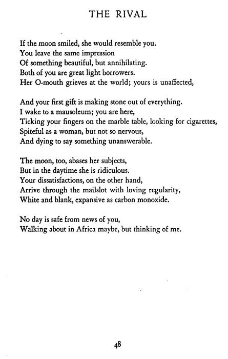 Sylvia Plath Ariel Poems 6