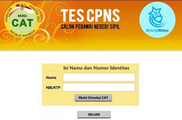 Download Soal Cpns 2018 Sistem Cat Pendidikan Latihan Pengetahuan