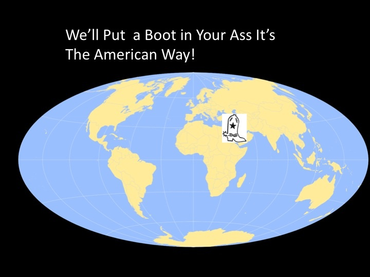 Put A Boot In Your Ass Its The American Way 65