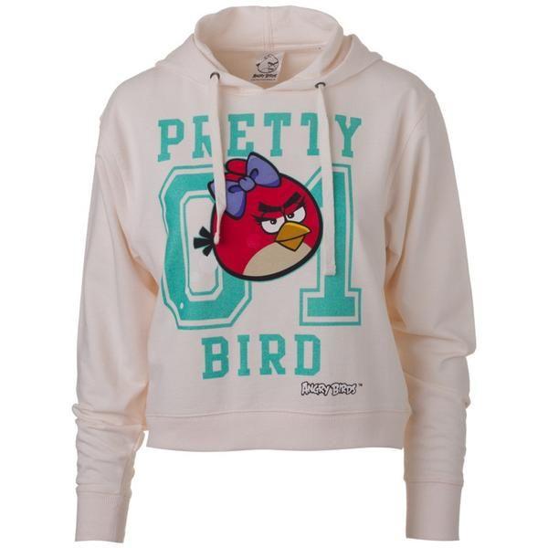 """Πατήστε και κερδίστε 10% ! Γυναικεία Μπλούζα Hoodie """"Pretty Bird"""" Angry Birds…"""