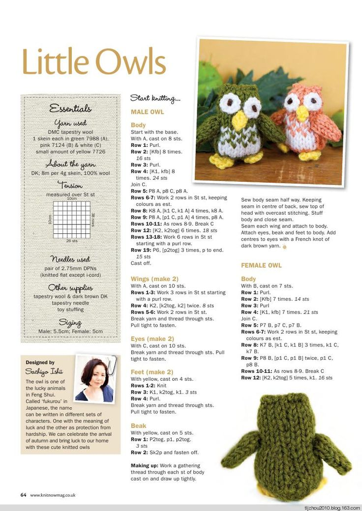 Knit Now Magazine Issue 40 2014 (1) - 紫苏 - 紫苏的博客