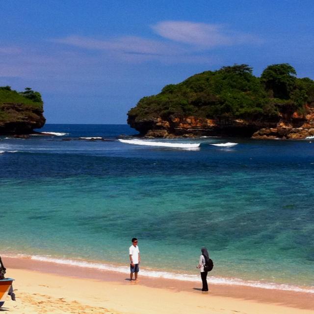 Watu Karung beach, Pacitan Indonesia