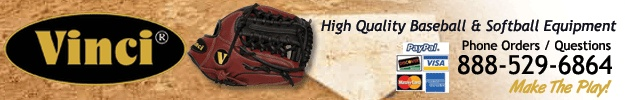 "10.5"" Youth/Kids Baseball Glove Model BRV 1957 CP Junior by Vinci"