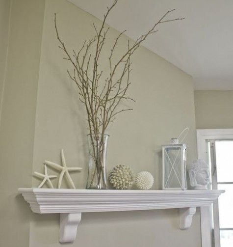 53 Beautiful Beach Mantle Decor Ideas | ComfyDwelling.com