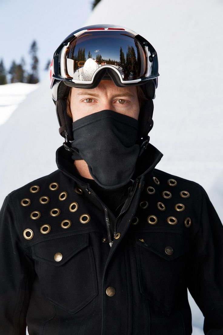 Shaun White in limited edition Oakley
