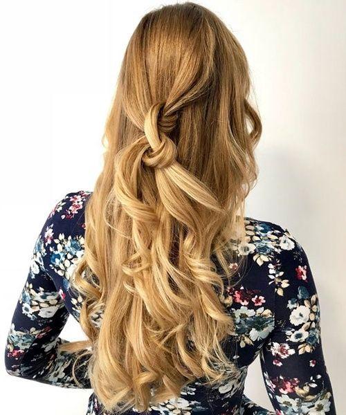Wunderschöne Sandy Blonde lange Frisuren 2019 für Abschlussball und Partys