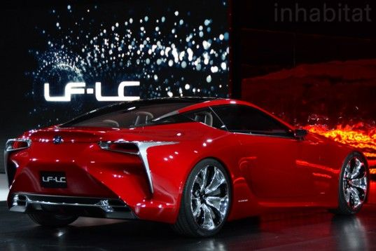 Lexus May Actually Produce the LF-LC Hybrid Sports Coupe Concept
