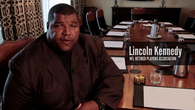 Lincoln Kennedy - Retired NFL Association joins Mannatech's Real Switch Challenge by Giving Changes Everything
