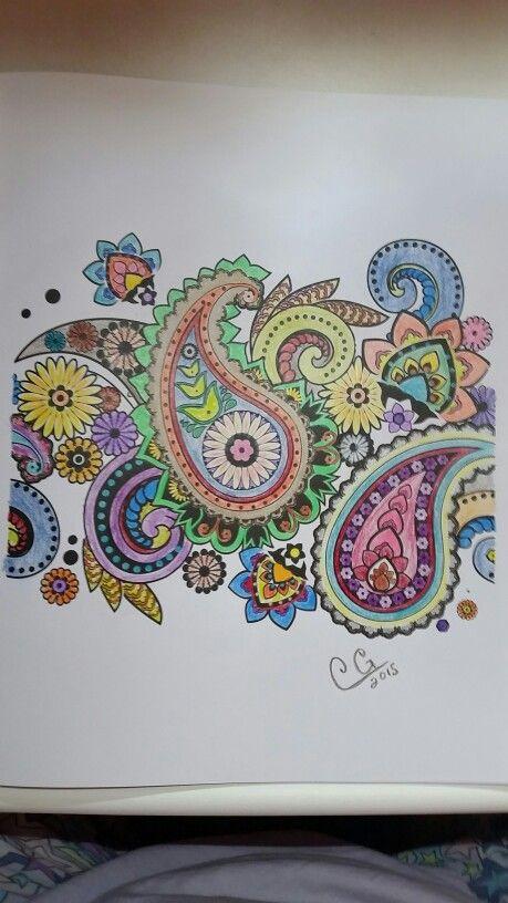 Colorama Coloring Book Prismacolor Pencils 8 2015