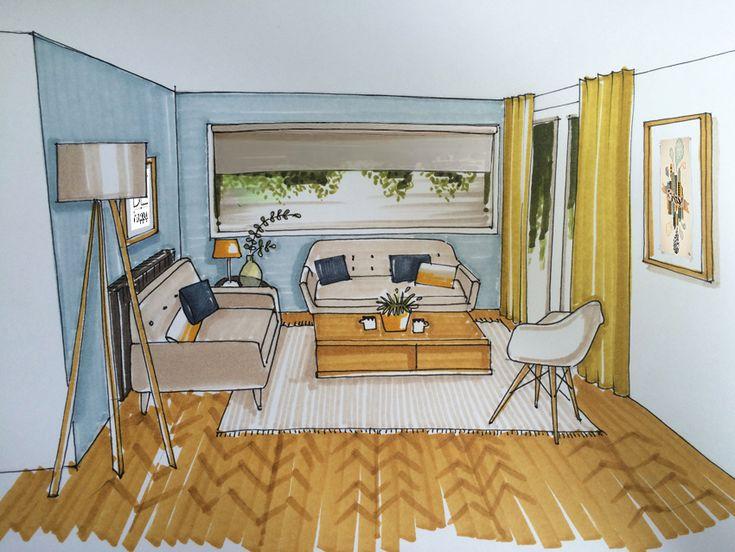Les 25 meilleures id es de la cat gorie conception for Salon style scandinave