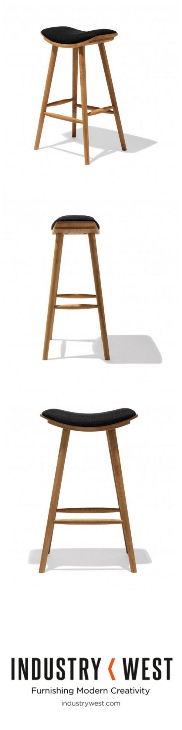 Jesper Bar Stool from Industry West