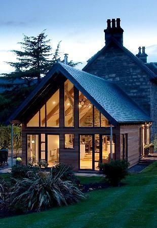 Photos of Craigatin House & Courtyard - love the glasshouse