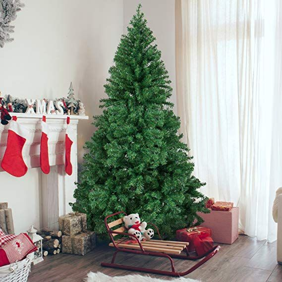 Best Choice Products 6ft Premium Hinged Artificial Christmas Pine Tree W Easy Assemb Best Artificial Christmas Trees Cool Christmas Trees Fake Christmas Trees