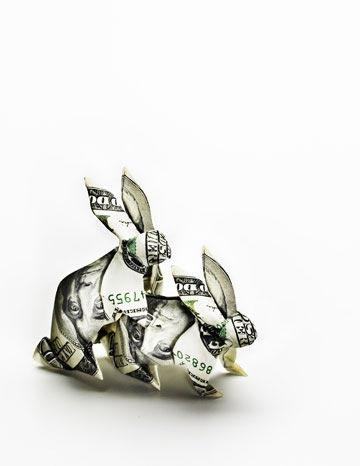 lucky money bunnies