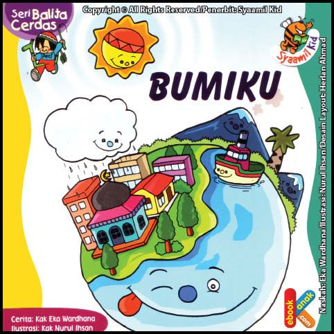 Baca Online Ebook Seri Balita Cerdas Bumiku | Ebook Anak