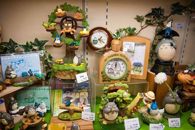 Studio Ghibli Shop, Tokyo Character Street ...I would go crazy in this store!