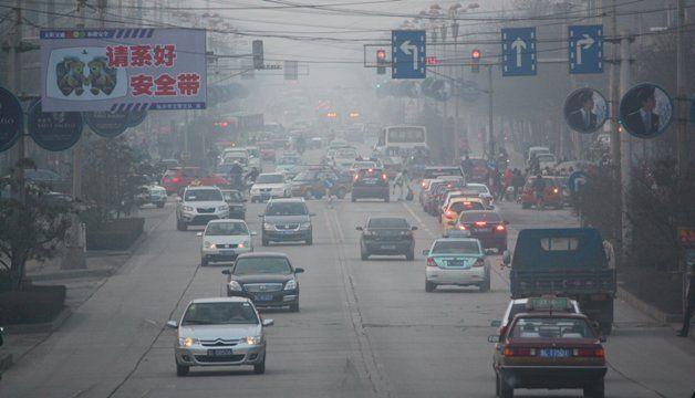 世界人口の大気汚染の中で生活 WHO - CNN Japan