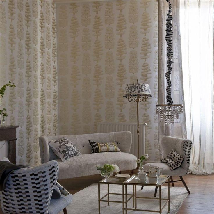 1000 ideas about papier peint salon on pinterest salon - Papier peint moderne salon ...