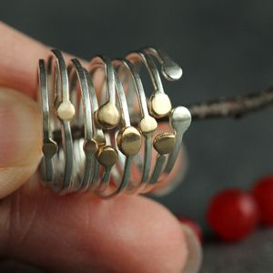 Image of Satellite Stacking Rings, Sets of 2 or 4
